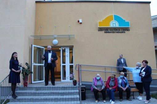 Panevėžio rajone – dar vieno kultūros židinio įkurtuvės