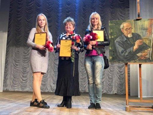 Adelė Bražėnaitė nuskynė parodos laurus