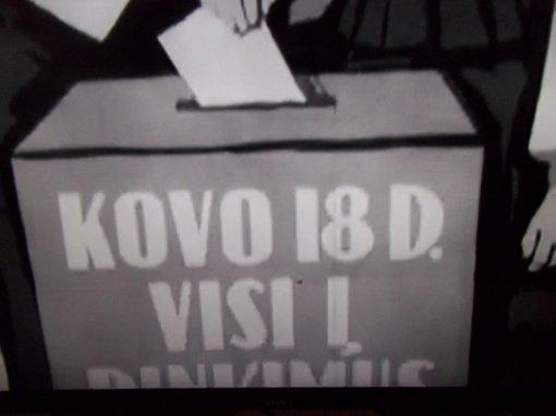 Sovietinius rinkimus prisimenant