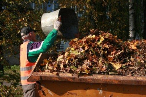 Panevėžiečius kviečia pasirūpinti žaliosiomis atliekomis
