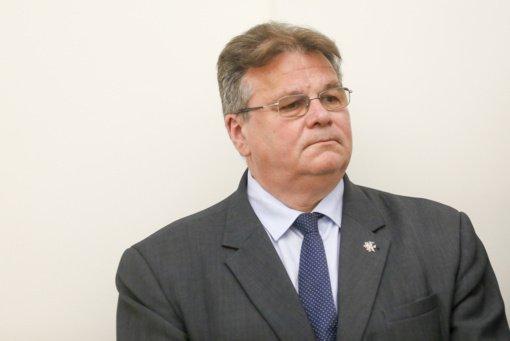 """Ministras L. Linkevičius su Vokietijos parlamento """"Žaliųjų"""" frakcija aptarė situaciją Baltarusijoje"""