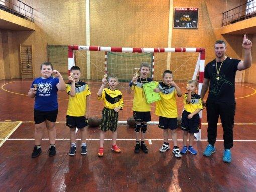 Jaunieji rankininkai – Lietuvos čempionai
