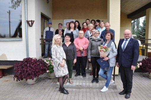 Paminėtas Klovainių sutrikusio intelekto jaunuolių centro 20-metis