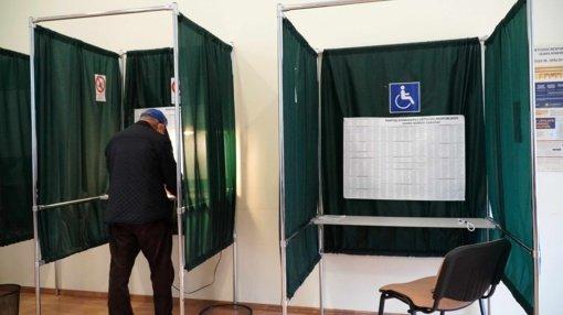 Antrajame Seimo rinkimų ture jau balsavo beveik dešimtadalis rinkėjų