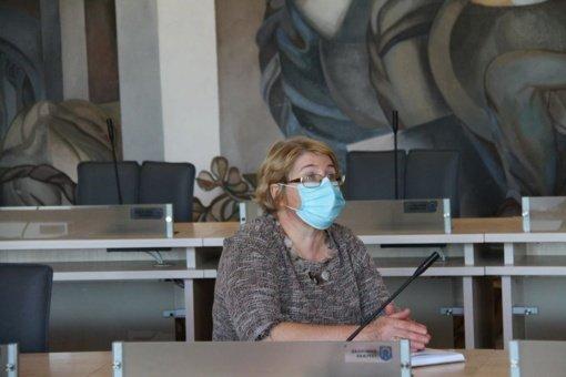 Birutė Sapkauskienė: labai svarbu viruso plitimo metu laikytis visų saugos reikalavimų