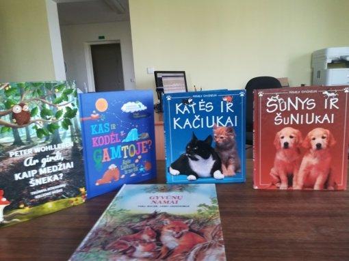 Čižiūnų bibliotekoje vyko popietė, skirta Pasaulinei gyvūnijos dienai paminėti
