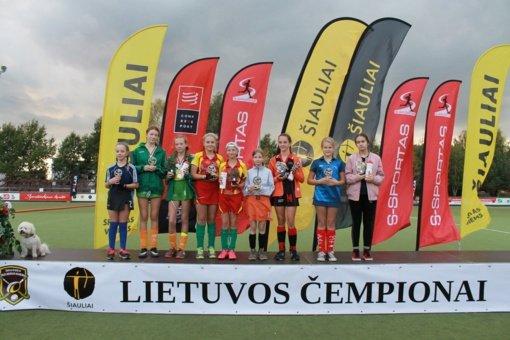 U-12 mergaičių pirmenybių finalinis etapas Šiauliuose