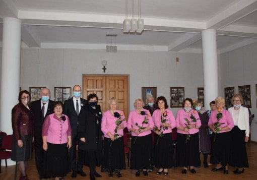 """Vyko Vilkaviškio rajono neįgaliųjų piligrimų bendrijos """"Suartėkim"""" ataskaitinis susirinkimas"""