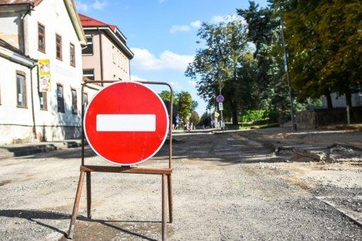 Nuo šiandien prasideda Kėdainių gatvės rekonstrukcijos darbai