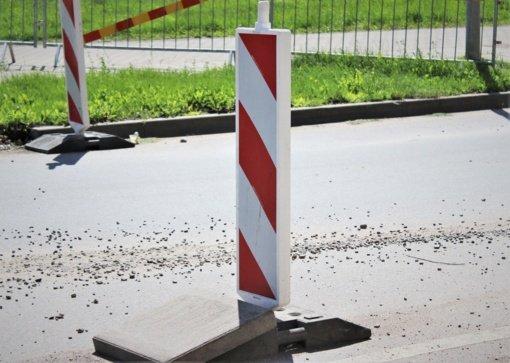 Klaipėdoje dėl rekonstrukcijos darbų bus ribojamas pėsčiųjų ir autotransporto eismas