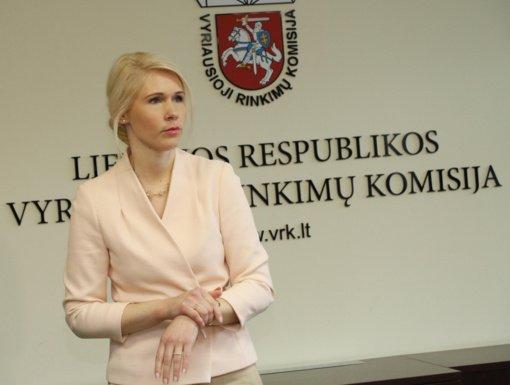 L. Matjošaitytė: saviizoliacijoje esantys asmenys dar šiandien gali kreiptis į VRK dėl balsavimo