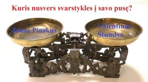 Antrajame ture susitiks V. Stundys ir J. Pinskus