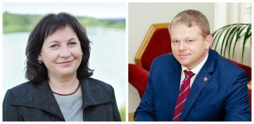 Dainavos apygardos rinkėjų bilietai į antrą turą – J. Zailskienei ir A. Palioniui