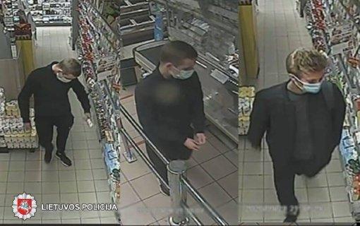 Policija prašo padėti atpažinti asmenis