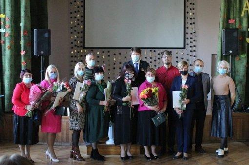 Akmenės rajone paminėta Tarptautinė mokytojų diena