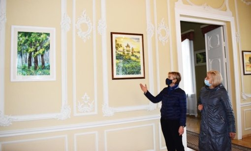 Paroda Renavo dvaro rūmuose – dovana pedagogams