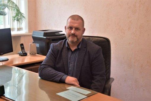 """""""Vilkaviškio sporto ir pramogų centrui"""" vadovaus Martynas Kasperaitis"""