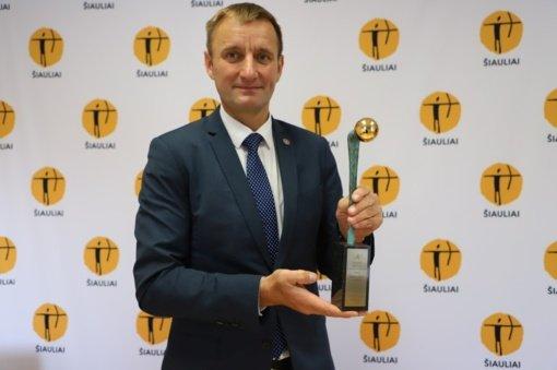 """Šiaulių miestas pelnė """"Auksinės krivūlės"""" apdovanojimą"""