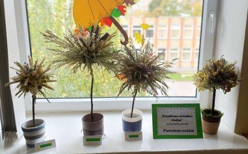 """""""Kūrybiškumo saviraiškos studijos"""" floristinių medžių paroda"""