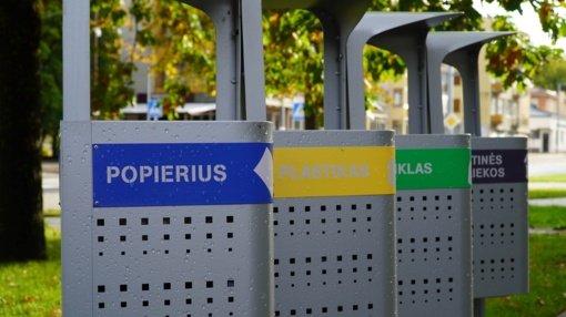 Lazdijų mieste ir sodų bendrijose bus įrengti 73 modernūs atliekų surinkimo konteineriai