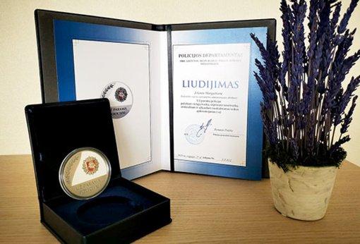 Svarus Lietuvos policijos apdovanojimas – Savivaldybės administracijos direktorei