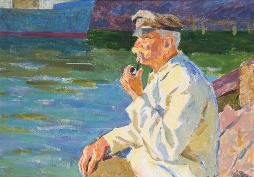 Proga kauniečiams grožėtis neeilinio talento tapytojo V. Pečiukonio akvarelėmis