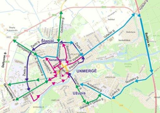 Ukmergės gatvėse – laikini transporto priemonių eismo ribojimai