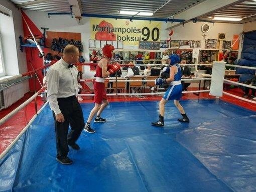 Marijampolės sporto centro boksininkai laimėjo net 15 prizinių vietų