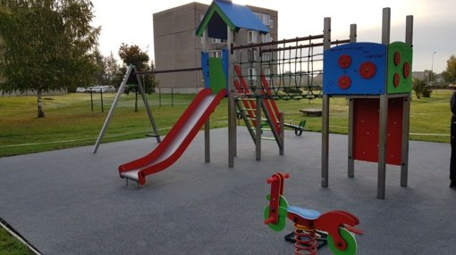 Tauragėje atsidarys nauja vaikų žaidimo aikštelė