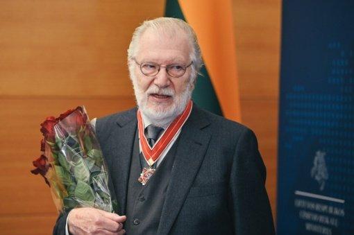 Juozui Budraičiui suteiktas garbingas apdovanojimas