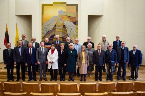 Pirmojo šaukimo Marijampolės miesto taryba susitiko po 30 metų