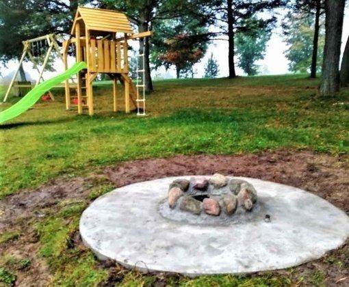 Vaikutėnų parke įrengta poilsiavietė