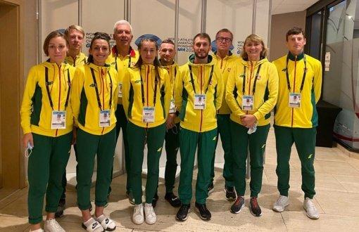 Pasaulio čempionate – Lietuvos stajerių rekordų liūtis ir istorinis R. Kančio rezultatas