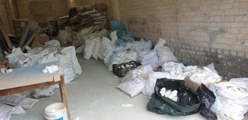 Kirtis nelegaliai prekybai – rasta cheminių mišinių už daugiau kaip 2 mln. eurų