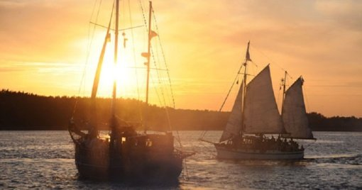 Istorinių laivų uostas iš Klaipėdos iškeltas į Švėkšną