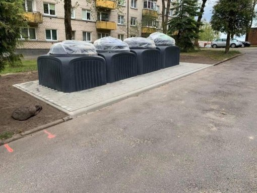 Pusiau požeminiai atliekų konteineriai Šiauliuose: džiaugsmai ir vargai