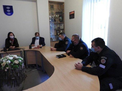 Posėdžiavo savivaldybės ekstremalių situacijų komisija