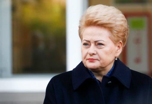 D. Grybauskaitė apie valdžios sprendimus dėl COVID-19: manau, kad po rinkimų bus sprendimai