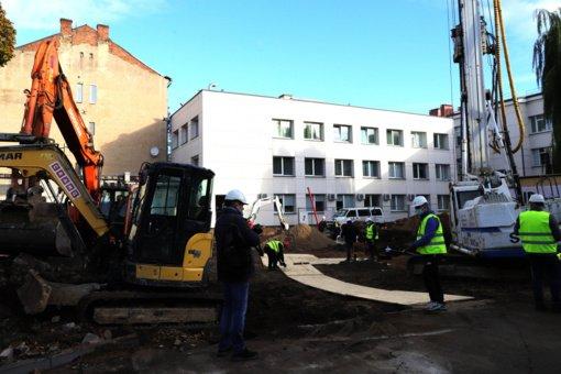 Prasideda M. Marcinkevičiaus ligoninės naujo priestato statybos