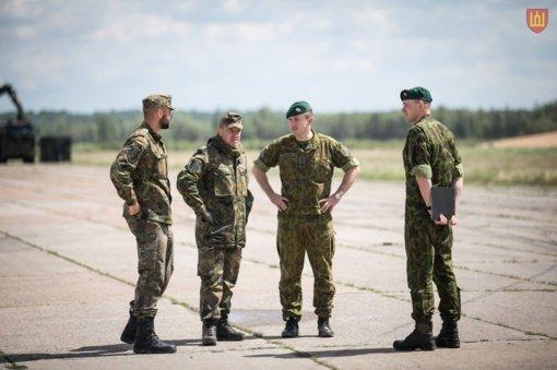 Spalio 24-25 vyks Lietuvos kariuomenės pratybos