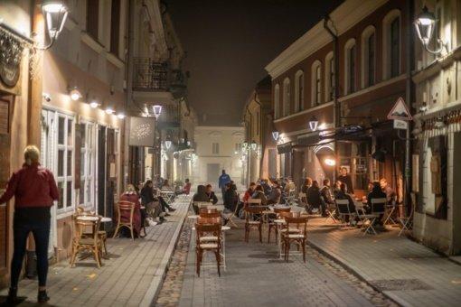Bus registruojami restoranų, barų, naktinių klubų, pasilinksminimo vietų lankytojai