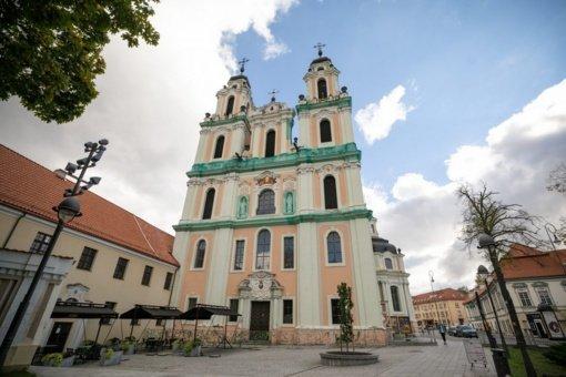 Pasirašyta Šv. Kotrynos bažnyčios fasado remonto darbų sutartis