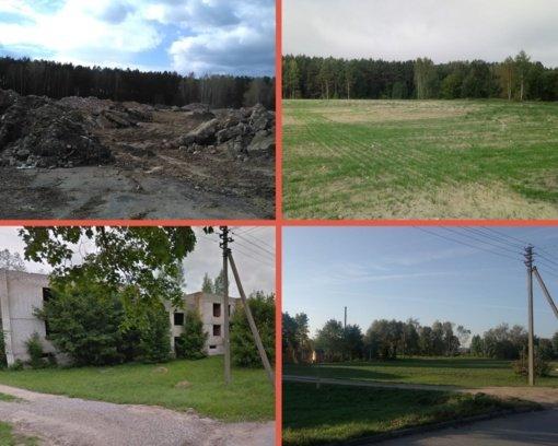 Rajone apleistų bešeimininkių pastatų valstybinėje žemėje beveik neliko