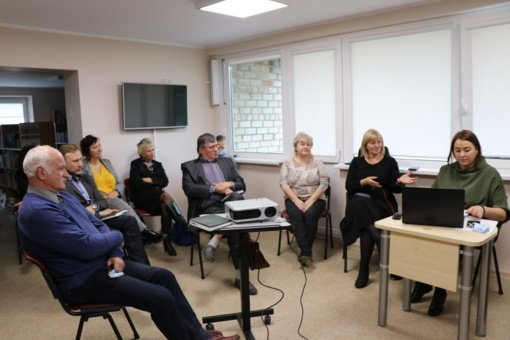 Seniūnų sueigoje aptartos problemos ir pokyčiai, duotas startas kalėdinių renginių planavimui