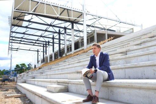 Jonavos stadionui – papildomas milijonas eurų