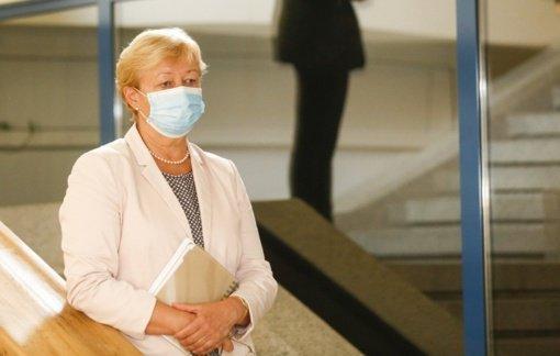 D. Razmuvienė: Lietuvoje fiksuojami 135 aktyvūs koronaviruso židiniai, serga 412 medikų
