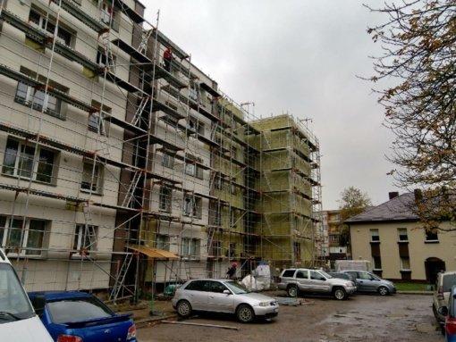 Biržų rajono savivaldybėje auga senų daugiabučių namų renovacijos tempai