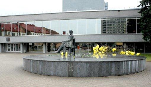 Juozo Miltinio dramos teatre nustatytas koronaviruso atvejis, atšaukiami spektakliai