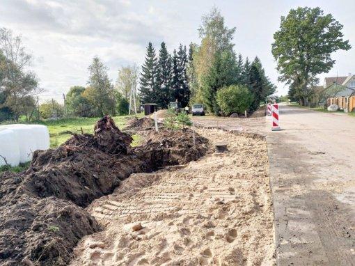 Igliaukoje pradėti infrastruktūros tvarkymo darbai