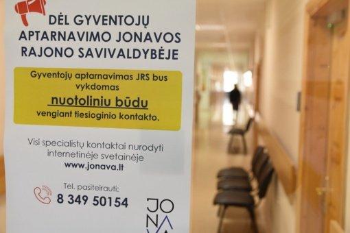 Jonavos rajono savivaldybė grįžta prie nuotolinio darbo